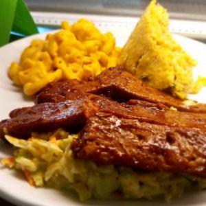 vegan BBQ Plate